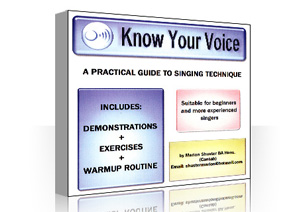 Marion Shuster's CD Know Your Voice